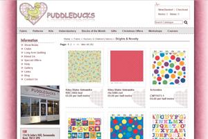 Puddleducks Fabrics
