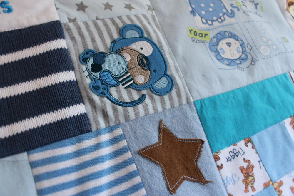 how to make patchwork quilt from baby clothes 28 images