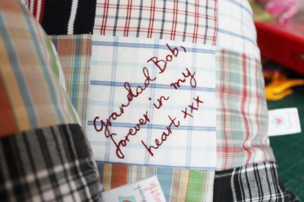 Adult-clothing-keepsake-cushion