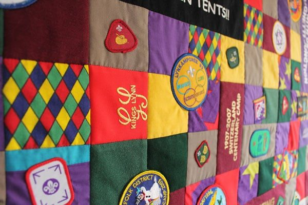 Adult Clothing Memory Quilt