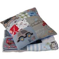 Keepsake Square Patchwork Cushion Memory