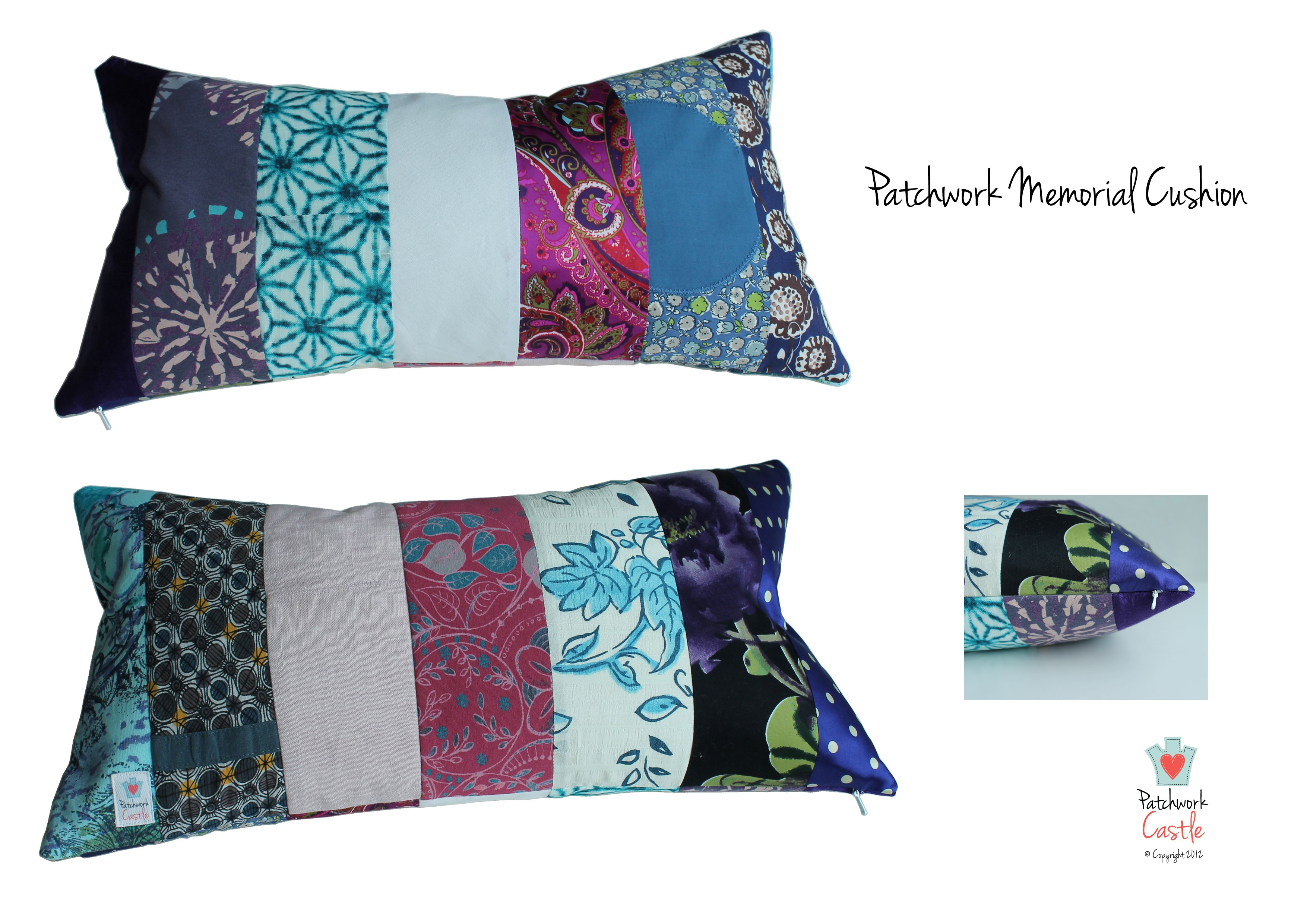 Memory Quilts And Keepsake Cushions From Adult Clothes