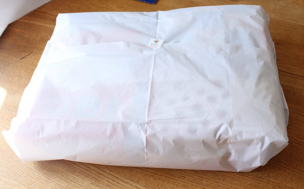 tissue wrapped memory blanket