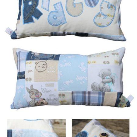 Keepsake-Personalised-Patchwork-Cushion