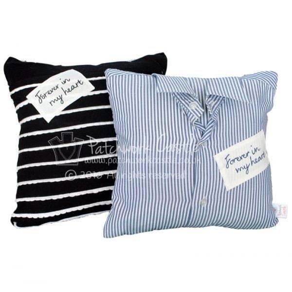 keepsake cushion with collar