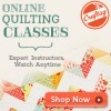Online Quilting Classes with Craftsy