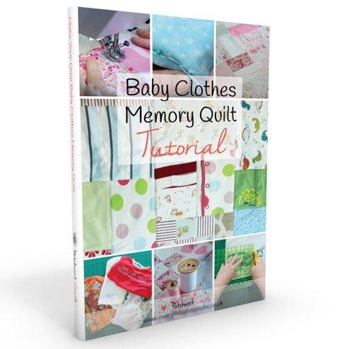 Baby Clothes Memory Quilt Tutorial | Patchwork Castle