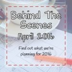 Behind the scenes with Patchwork Castle - April 2016 - Find out more about creating clothing keepsakes.