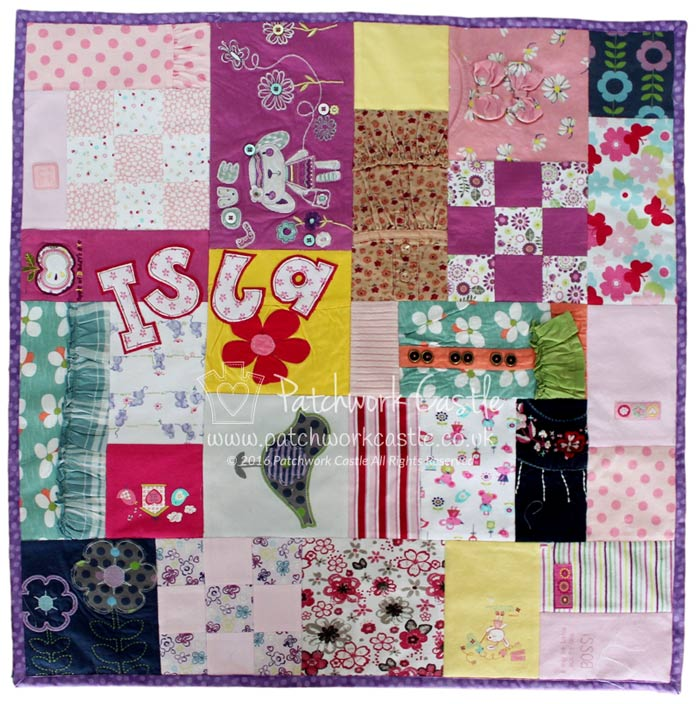 Patchwork Castle Beautiful Memory Quilts Amp Keepsake