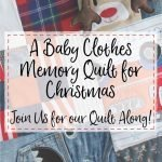 Join us for the Memory Quilt Along