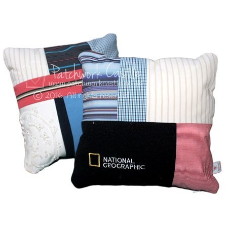 signature mosaic keepsake cushions