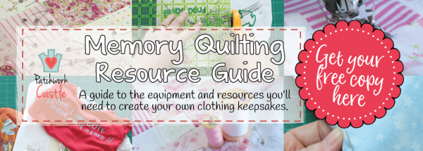 Get Your Free Memory Quilting Resources Guide