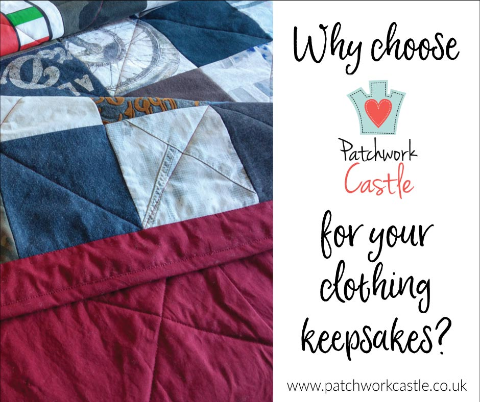 Choosing Patchwork Castle For Your Clothing Keepsakes