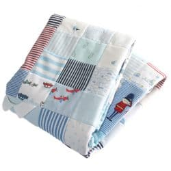 Baby Clothes Memory Quilt All Squared Up | Patchwork Castle