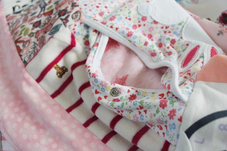 Baby Clothes Keepsake Memory Quilt Patchwork Castle