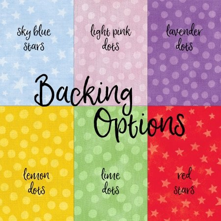 Memory Quilt Backing Options