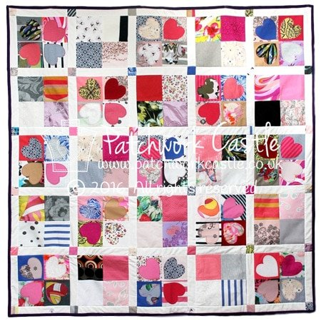 Woman's clothes keepsake memory quilt
