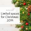 Patchwork Castle Blog Limited Spaces Xmas 2019