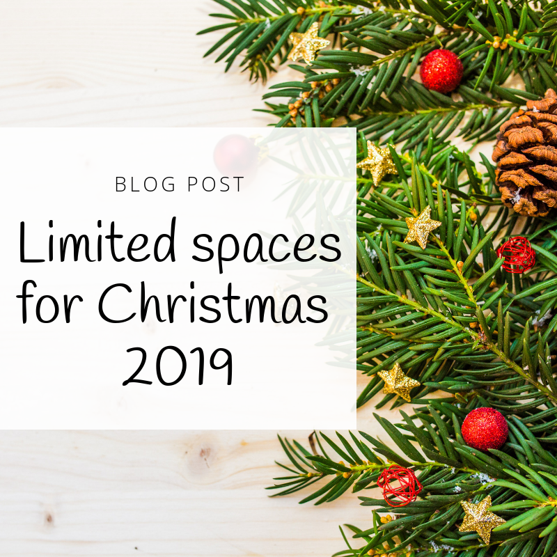 Patchwork Castle Blog Limited Spaces Xmas 2019